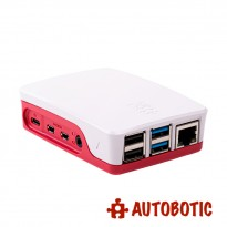 Raspberry Pi 4 Model B Official Casing (Made in UK) Red/White (Pre-Order)