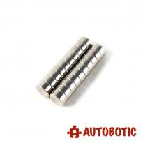 Neodymium Round Magnet 7mm x 3mm (1 piece)