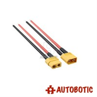 Lipo Battery XT60 Male & Female Connector with 14AWG Cable (1 Pair)
