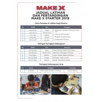 2019 MakeX Starter – City Guardian (Training for Competition)
