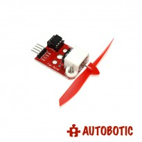 Fan Motor Module with Propeller + L9110 Driver