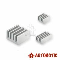 Raspberry Pi 4 Heatsink (Aluminium 3pcs)