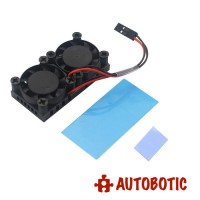 Raspberry Pi 4 Dual Fan Heatsink Cooling Kit
