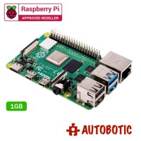 Raspberry Pi 4 Model B (1GB) + 1 Yr Warranty (Free Heatsink)