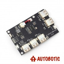 Power Supply Board Module USB HUB Lithium Battery Module 5V 2A for Raspberry Pi 3 Zero/3B/2B/B
