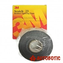 3M Scotch 23 Rubber Splicing Tape (W=19mm, L=9.1m)