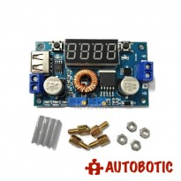 Adjustable 5A DC-DC Step Down Voltage Power Module With Display