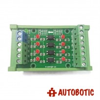 4 Channel Optocoupler Isolation Module (24V to 5V)