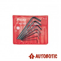 Pro'sKit 8PK-022 Miniature L Shaped Hex Key Set (Metric)