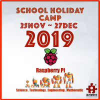 2019 STEM School Holiday Camp (Raspberry Pi for Beginners)