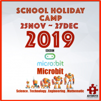 2019 STEM School Holiday Camp (Micro:bit)