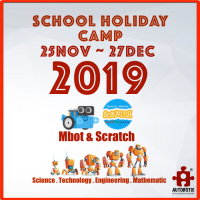 2019 STEM School Holiday Camp (mBot+mBlock+Scratch)
