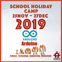 2019 STEM School Holiday Camp (Arduino for Beginners)