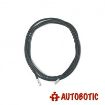 18AWG Multicore Wire Black (1 meter)