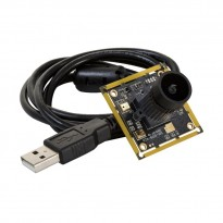 """Arducam 1080P Low Light Wide Angle USB Camera Module with Microphone for Computer, 2MP 1/2.8"""" CMOS IMX291 120 Degree Mini UVC USB2.0 Webcam Board with 3.3ft/1m Cable for Windows, Linux and Mac OS"""