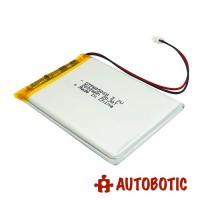 LiPo Rechargeable Battery 3.7V 2000mAH