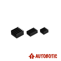 Raspberry Pi 4 Heatsink (Black 3pcs)