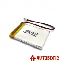 LiPo Rechargeable Battery 3.7V 1000mAH