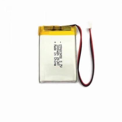 LiPo Rechargeable Battery 3.7V 1000mAH