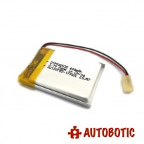LiPo Rechargeable Battery 3.7V 400mAH