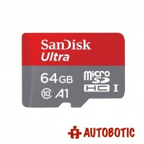 SanDisk 64GB Ultra A1 Micro SD Card 98MB/s Class 10