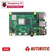 Raspberry Pi 4 Model B (8GB) + 1 Yr Warranty