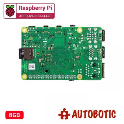 Raspberry Pi 4 Model B (8GB) + 1 Yr Warranty