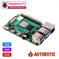 Raspberry Pi 4 Model B (8GB) + 1 Yr Warranty (PRE-ORDER)