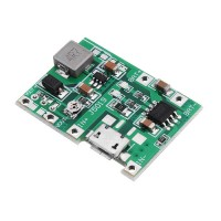 Adjustable 2A 18650 Lithium Battery Charging Discharge Integrated Module