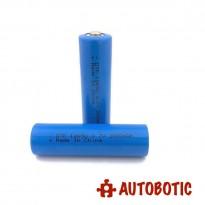 Battery 18650 3.7V 2000mAh Li-ion (Button Top)