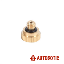 Brass Misting Nozzle for Cooling System (0.3mm)