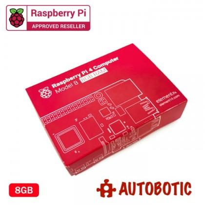 Raspberry Pi 4 Bundle (8GBRAM/32GB NOOBS/Red/Case Fan)