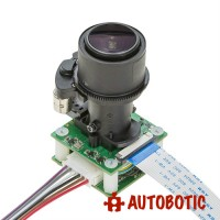 Arducam 8MP Pan Tilt Zoom PTZ Camera for Raspberry Pi 4/3B+/3