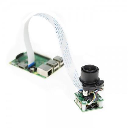 Arducam 8MP Pan Tilt Zoom PTZ Camera for Raspberry Pi 4/3B+/3