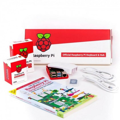 Official EU Raspberry Pi 4 Desktop Kit (2GB) + 1 Yr Warranty