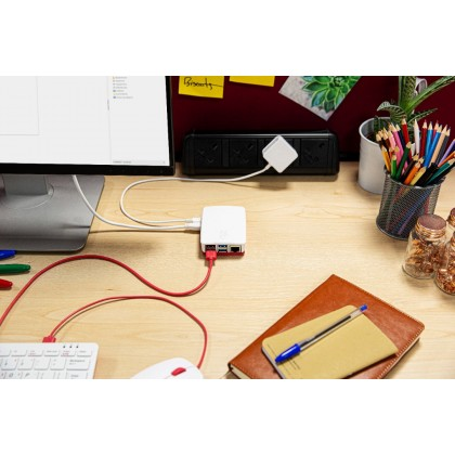 Official EU Raspberry Pi 4 Desktop Kit (2GB) + 1 Yr Warranty + Free Official RPi Red Ceramic Mug from UK (While Stock Last)