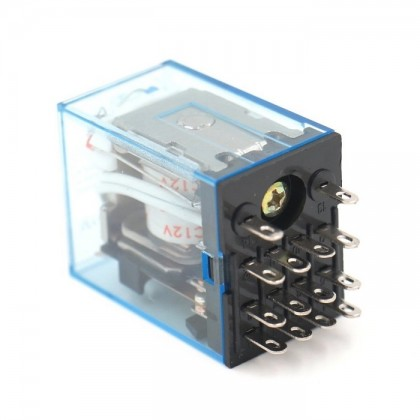 MY4NJ General Purpose Relay HH54P DC12V Coil (14 Pin)