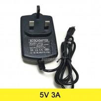 AC to DC Power Adapter 5V 3A Output Micro USB (UK Plug)