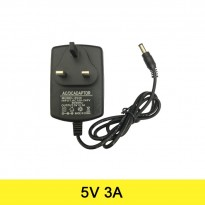 AC to DC Power Adapter 5V 3A (UK Plug)