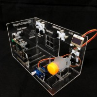 Acrylic House Model for micro:bit Smart Home Kit