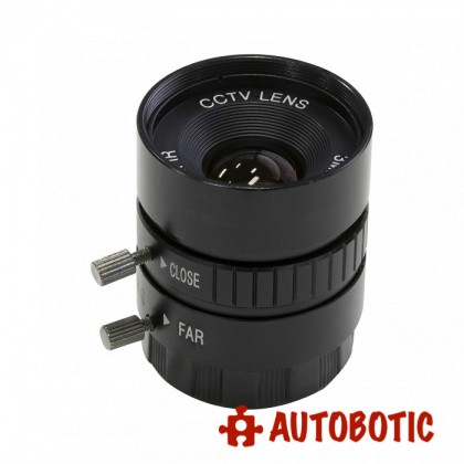 12mm Camera Lens (CS Mount) for Raspberry Pi HQ Camera