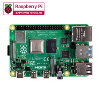 Special Combo Raspberry Pi 4 Model B (4GB) with Official Casing (Red)
