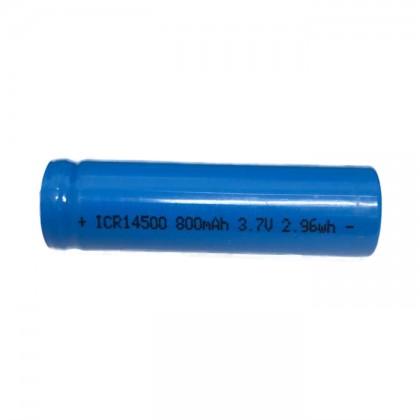 Battery 14500 3.7V 800mAh Li-Ion (Button Top)