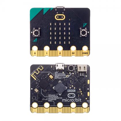 Complete Set - Micro:bit V2 Go Bundle + Free 10 pcs Crocodile Cable
