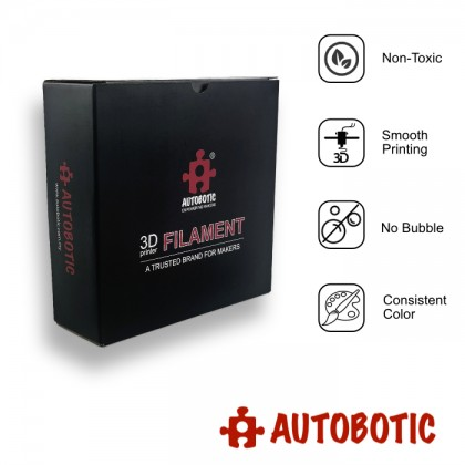 3D Printer 1.75mm PETG Filament 1KG (Black) [READY STOCK]
