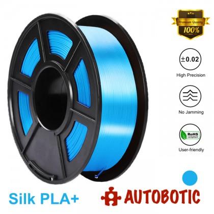 3D Printer 1.75mm Silk PLA+ Filament 1KG (Blue) [READY STOCK]