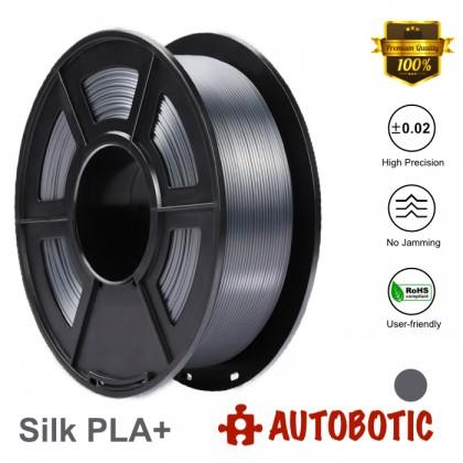 3D Printer 1.75mm Silk PLA+ Filament 1KG (Grey) [READY STOCK]
