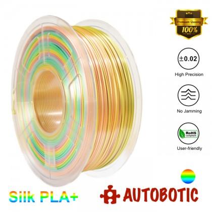 3D Printer 1.75mm Silk PLA+ Filament 1KG (Rainbow) [READY STOCK]