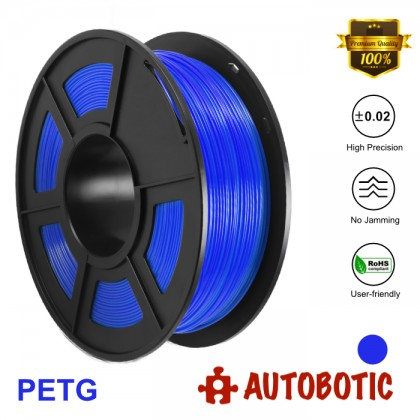 3D Printer 1.75mm PETG Filament 1KG (Blue) [READY STOCK]