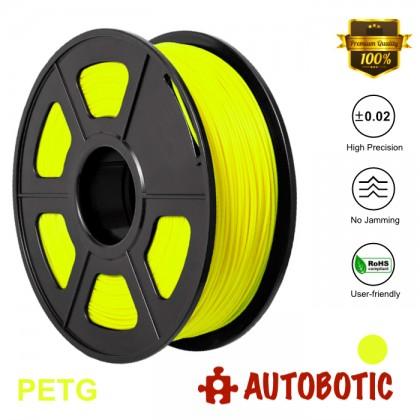 3D Printer 1.75mm PETG Filament 1KG (Yellow) [READY STOCK]